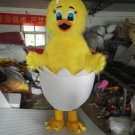Free Shipping Easter yellow egg chicken mascot costume for party