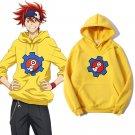 Takerlama SK8 the Infinity Hoodie Reki Cosplay Yellow Sweatshirts Casual Streetwear Pullover Hoodies