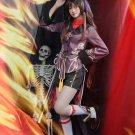 Free Shipping Genshin Impact Hutao Cosplay Costume Game Suit Uniform Hu Tao Halloween Costumes