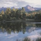 Sneffels Peak Postcards Colorado Scenic Mountain
