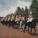 Postcard Horse Guards In Mall London 1960 Horses Postally Unused