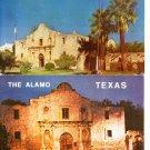Two Postcards THE ALAMO Texas Historical San Antonio Architecture