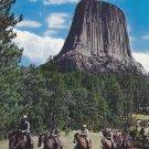 Devil's Tower Postcard Wyoming Scenic