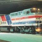 Amtrak Unit Number 510 Postcard Train Railroad