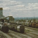 Genesee and Wyoming Railroad Postcard Salt Mine Trains