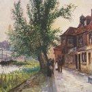 Raphael Tuck Postcard Vintage OILETTE Kew Bridge Middlesex