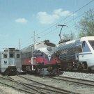 Postcard ASEA BROWN BOVERI-ABB Trains Locomotives