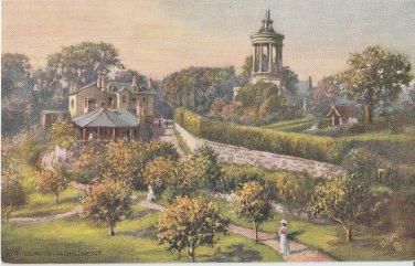 ALLOWAY MONUMENT Tuck Vintage Postcard Scenic