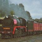 Victorian Railways Steam Locomotive Number R761 Postcard Train