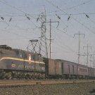 Pennsylvania Railroad's GG-1 Number 4859 Postcard Train Locomotive