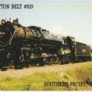 St. Louis Southwestern Railway Cotton Belt Route Postcard Locomotive #819
