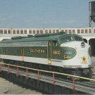 Spencer Shops State Historic Site Postcard Southern Railways E-8 Unit 6900 Train