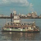 The Memphis Queen 11 Postcard Missippippi River Excursion Boat