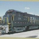 Transkentucky Transportation Railroad Locomotive #258 Train Postcard