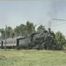 St. Louis-San Francisco Railway Steam Locomotive No 1630 Postcard