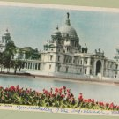 Victoria Memorial Calcutta Vintage Postcard India
