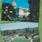 Post Cards HISTORIC BUILDINGS California State Capitol Sutters Fort Architecture