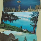 Lake Tahoe Postcards Lot of 5 Unused Chrome Sierra Mountains