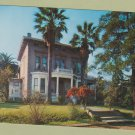 JOHN MUIR HOUSE Color Postcard Unused Historic Home California