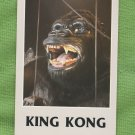 King Kong Postcard Universal Studios Advertising 1980s Vintage