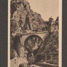 Grimaldi Ventimiglia Ponte San Luigi Italy Vintage Postcard
