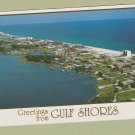 GULF SHORES POSTCARD GREETINGS ALABAMA AERIAL PANORAMIC VIEW