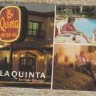 La Quinta Inn Advertising Postcard Vintage