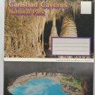 Carlsbad Caverns National Park Postcard Folder New Mexico Southwest