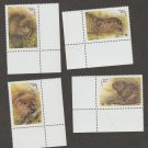 Beavers Postage Stamps Belarus MNH Complete Set World Wildlife Fund