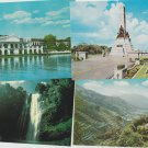 Lot of 8 PHILIPPINES Postcards Foreign Scenic Waterfall Volcano Palace