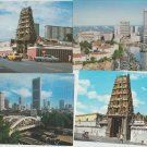 SINGAPORE POSTCARDS Lot of 7 Unposted Indian Temple Waterfront