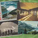 CANADA SCENIC Post Cards NIAGARA FALLS BANFF WATERTON LAKES