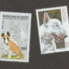 BULL TERRIER STAMPS Lot of 2 Worldwide