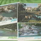 JAMAICA Post Cards Scenic San San Bay Dunn's River
