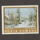 Posta Romana (Romania) Stamp Andreescu Painting Winter in Barbizon
