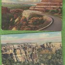 Postcards COLORADO NATIONAL MONUMENT Scenic