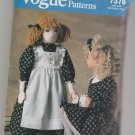 Vogue Patterns 7376 Toddler Doll 40 Inch Clothing