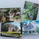 ARKANSAS Postcards Lot of 4 Eureka Springs Stone County Courthouse