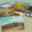 Arizona RPPC Postcards Scenic Salt River Canyon Superstition Mountains