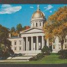 State Capitol Montpelier, Vermont Postcard Historic Building