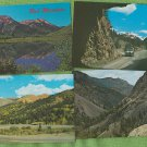 Colorado Scenic Postcard Assortment Million Dollar Highway Ouray Silverton