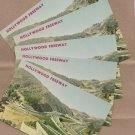 Hollywood Freeway Postcards Highway California