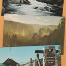 YOSEMITE NATIONAL PARK Postcards California Scenic Waterfalls