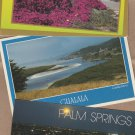 California State Post Cards Lot of 3 Palm Springs, Gualala River Scenic