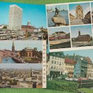 COPENHAGEN DENMARK Post Cards Buildings Scenic Street Scenes