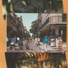 New Orleans Louisiana Vtg Chrome  Postcards Bourbon Street French Quarter