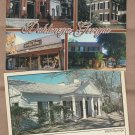 Georgia Historic Buildings Postcards Old Houses Dahlenega, Dawsonville, Roosevelt