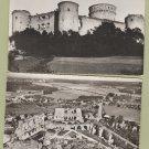COUCY-LE-CHATEAU (Aisne) Post Cards Lot of 3 Castle Ruins