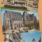 SAINT-QUENTIN (Aisne) France Postcard Historic Buildings Street Scenes