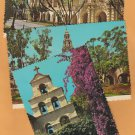 Balboa Park Postcards California Casa del Prado Mission San Diego Bell Tower